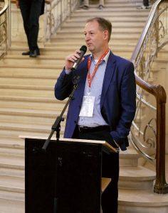 Conference Dinner – Eröffnung durch den GOR-Vorsitzenden Prof. Dr. Alf Kimms